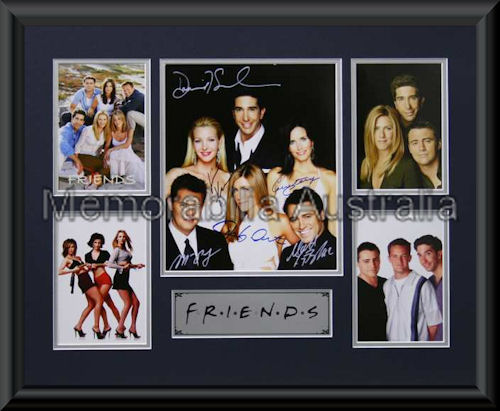 Friends LE Montage Mat Framed