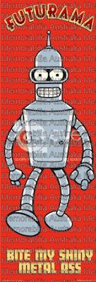 Futurama Door Poster
