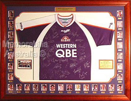 2002/03 Perth Glory Signed Jersey