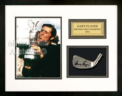 Gary Player Autographed Clubhead