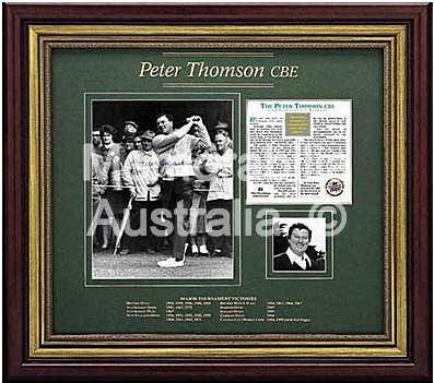Peter Thomson Commemorative Release