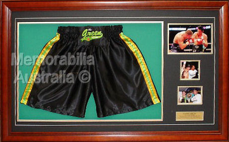 Danny Green Signed Boxing Shorts
