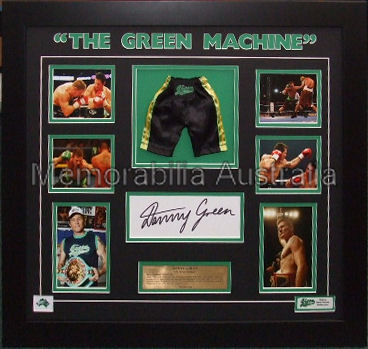 Danny Green Signed Minishort Montage