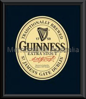 Guinness Mini Poster Framed