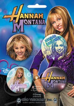 Hannah Montana Buttonpack