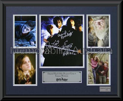 Harry Potter LE Montage Framed