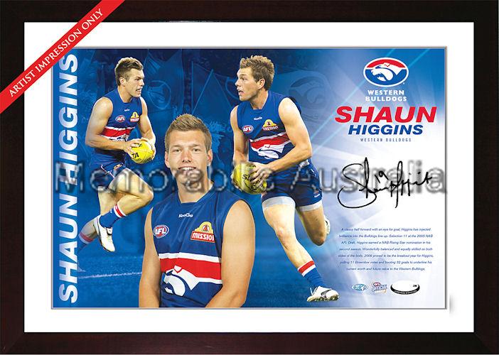 Shaun Higgins Signed AFL Starshot