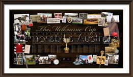 History Of Melbourne Cup Framed