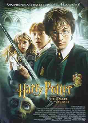 The Chamber of Secrets Poster