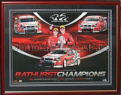 Bathurst 2009 Champions Framed Print