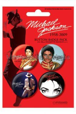 Michael Jackson Button Badge Pack