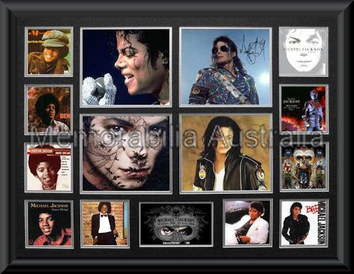 Michael Jackson Oversize Montage Mat Framed