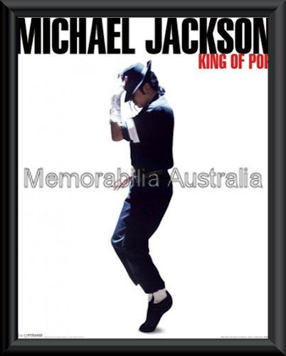 Michael Jackson Mini Poster Framed