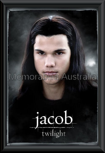 Jacob Twilight Poster Framed