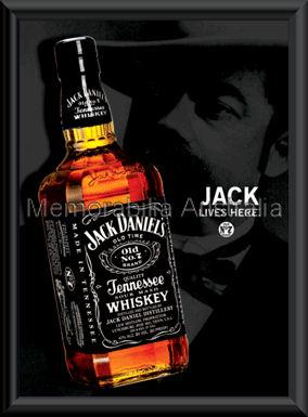 Jack Daniels 3D Lenticular Framed
