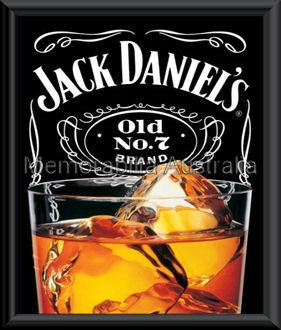Jack Daniels Mini Poster Framed