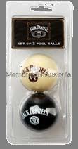 Jack Daniels Set B/W Pool Balls