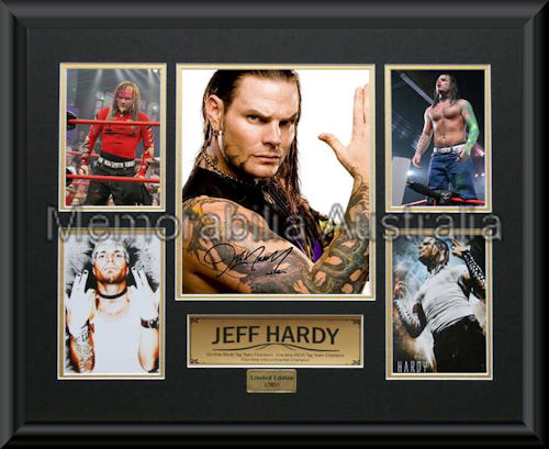 Jeff Hardy LE Montage Framed
