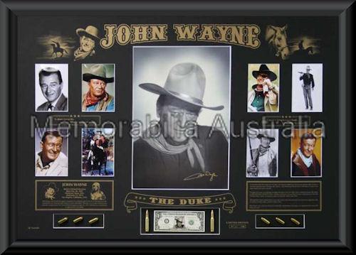 John Wayne Le Oversize Montage Framed F K Movies