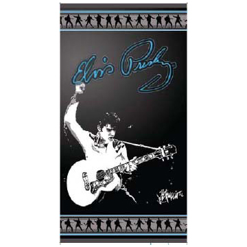 Elvis Beach Towel
