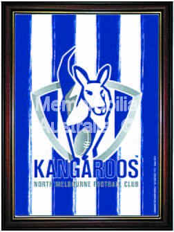 Kangaroos Framed Logo Poster