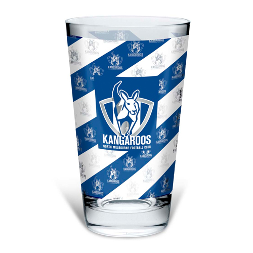 North Melbourne Kangaroos Conical Glass