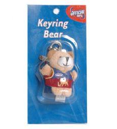 Brisbane Lions Keyring Bear