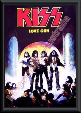 KISS Love Gun Print