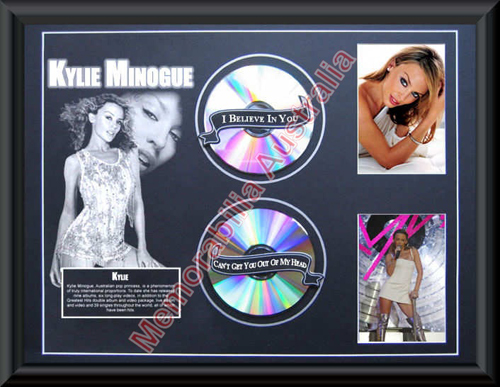 Kylie 2 Disc Printed Matt