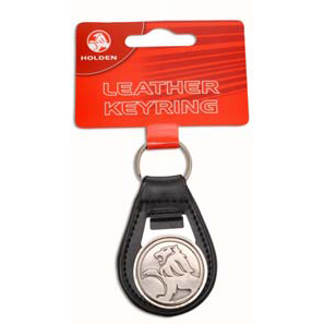 Holden Leather Keyring
