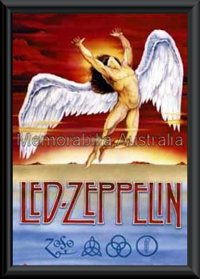 Led Zeppelin Poster Framed
