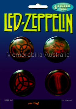 Led Zeppelin Button Badge Pack