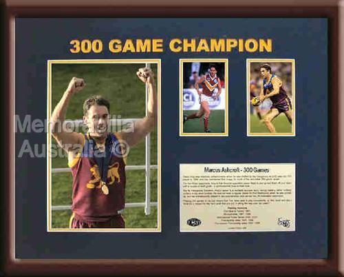 Ashcroft 300 Game Celebration Piece