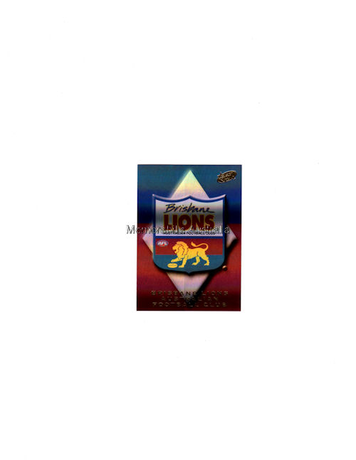 Lions AFL 2000 Logo Holo