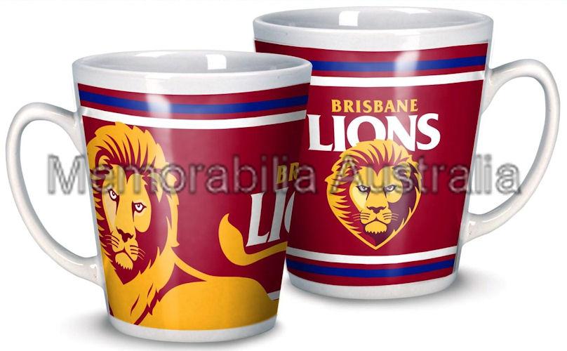 Brisbane Lions AFL 11oz Ceramic Mug