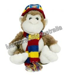 Brisbane Lions  AFL 24cm Monkey