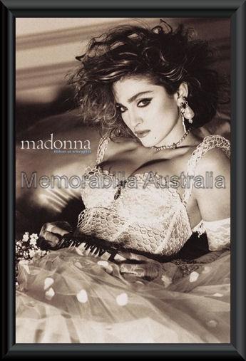 Madonna Poster Framed