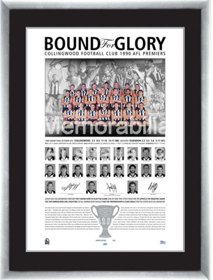 Collingwood Magpies Bound for Glory