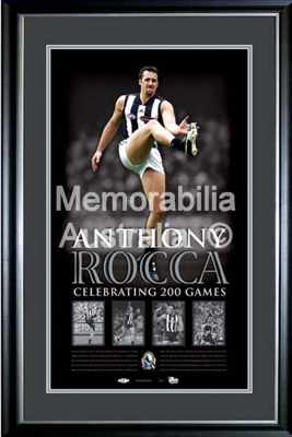 Anthony Rocca 200 Game Lithograph