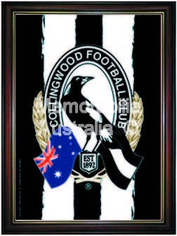 Collingwood Magpies Logo Poster
