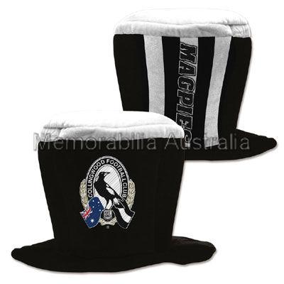 Collingwood Magpies AFL Fun Hat