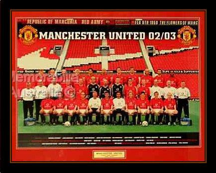 Manchester United 2002/03 Premier League Champions