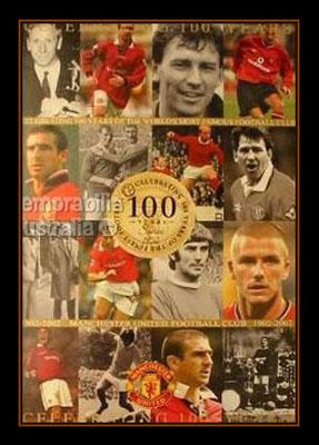 Manchester Uniteds Centenary Print