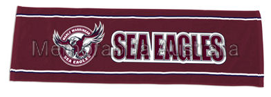 Manly Sea Eagles Velour Bar Towel