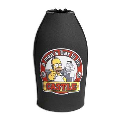 Simpsons Stubby Cooler - Castle
