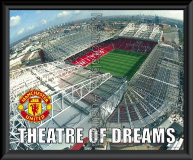 Theatre Of Dreams Poster Framed