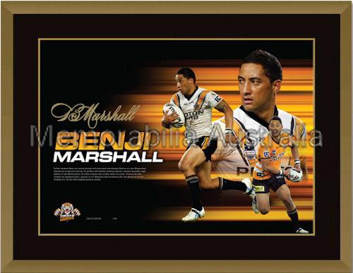Benji Marshall Signed LE