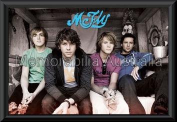McFly Band Poster Framed