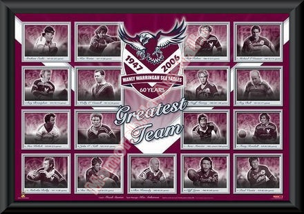 60th Anniversary Manly SeaEagles