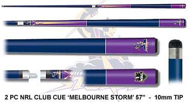 Melbourne Storm Pool Cue